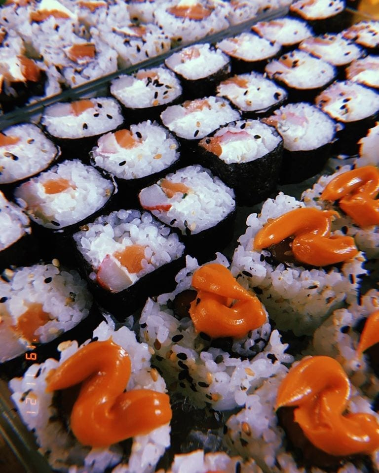 sushi delivery em Natal